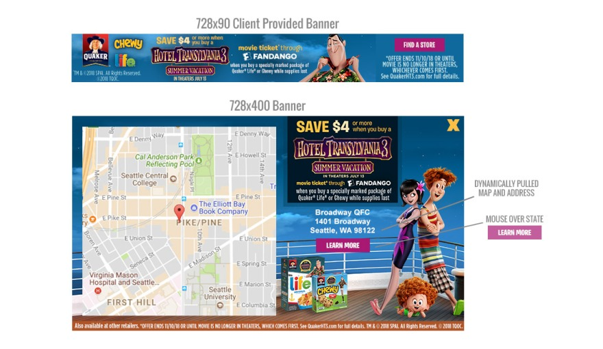 Mixpo: Hotel Transylvania and Quaker at Kroger Campaign – Allison on nordstrom map, shoprite map, fred meyer map, piggly wiggly map, winn dixie map, regions bank map, publix map, at&t map, walmart map, wegmans map, costco map, toys r us map, lowe's map, target map, sams club map, albertsons map, kmart map,